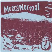"Mecca Normal I Can Hear Me Fine EP Canada 7"" vinyl"