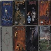 Click here for more info about 'Megadeth - 1985 - 1999 - Studio Albums'