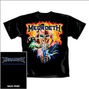 Click here for more info about 'Megadeth - 2 Face Vic T-Shirt - XL'