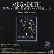 Click here for more info about 'Megadeth - Almost Honest'
