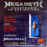 Click here for more info about 'Megadeth - Countdown To Extiction'