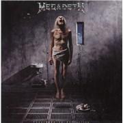 Megadeth Countdown To Extinction - VG/EX UK vinyl LP