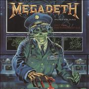 Click here for more info about 'Megadeth - Holy Wars - Poster Sleeve - EX'