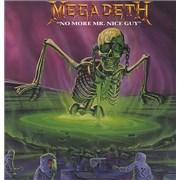 "Megadeth No More Mr Nice Guy - Poster Sleeve UK 12"" vinyl"