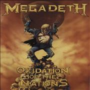 Click here for more info about 'Megadeth - Oxidation Of The Nations'