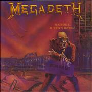 Megadeth Peace Sells...But Who's Buying? USA vinyl LP