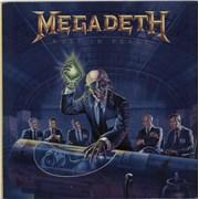Megadeth Rust In Peace - EX UK vinyl LP