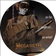 Click here for more info about 'Megadeth - So Far So Good So What'