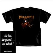 Click here for more info about 'Megadeth - So Far, So Good T-Shirt - Small'