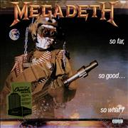 Click here for more info about 'Megadeth - So Far, So Good...So What! - 180 Gram Vinyl - sealed'