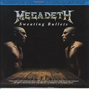 Click here for more info about 'Megadeth - Sweating Bullets - Blue Vinyl'