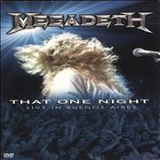 Click here for more info about 'Megadeth - That One Night: Live In Buenos Aires - NTSC'
