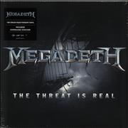 Click here for more info about 'Megadeth - The Threat Is Real - 180gm'