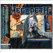 Click here for more info about 'Megadeth - United Abominations'