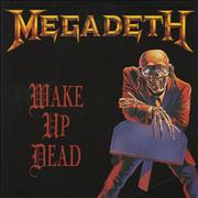 "Megadeth Wake Up Dead UK 12"" vinyl"