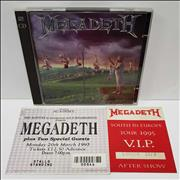 Click here for more info about 'Megadeth - Youthanasia + Hidden Treasures - Autographed'