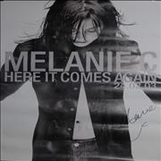 Click here for more info about 'Melanie C - Here It Comes Again - Autographed'