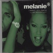 Melanie B I Want You Back UK CD single