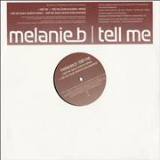 "Melanie B Tell Me UK 12"" vinyl Promo"