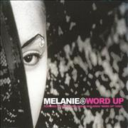 Melanie B Word Up UK CD single