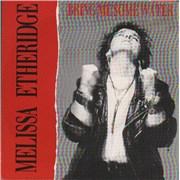 "Melissa Etheridge Bring Me Some Water Canada 7"" vinyl"