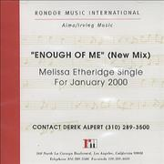 Click here for more info about 'Melissa Etheridge - Enough Of Me'