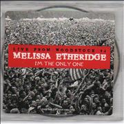 Melissa Etheridge I'm The Only One - Live From Woodstock USA CD single Promo