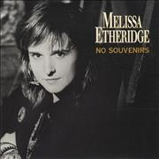 "Melissa Etheridge No Souvenirs UK 7"" vinyl"
