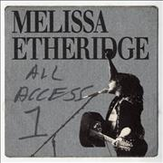 Click here for more info about 'Melissa Etheridge - Tour Pass'
