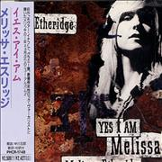 Melissa Etheridge Yes I Am Japan CD album Promo