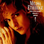 "Melissa Etheridge You Can Sleep While I Drive UK 12"" vinyl"