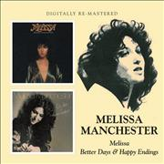 Click here for more info about 'Melissa Manchester - Melissa / Better Days & Happy Endings'