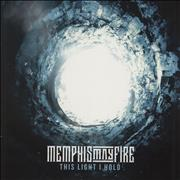 Click here for more info about 'Memphis May Fire - This Light I Hold - White / Black & Blue Splatter'