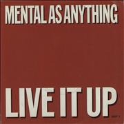 Click here for more info about 'Mental As Anything - Live It Up - Title Sleeve'