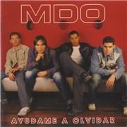 Menudo Ayudame A Olvidar USA CD single Promo