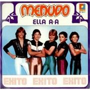 "Menudo Ella A-A Mexico 7"" vinyl"