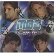 Menudo Otra Vez - Autographed USA CD album