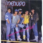 Menudo Somos Los Hijos Del Rock Mexico vinyl LP