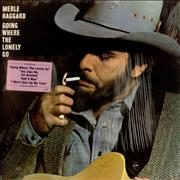 Merle Haggard Going Where The Lonely Go USA vinyl LP