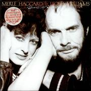 Click here for more info about 'Merle Haggard - Heart To Heart  - Gold Promotional Stamped'