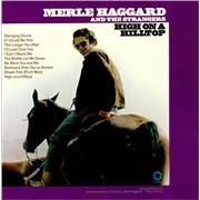 Merle Haggard High On A Hilltop USA vinyl LP