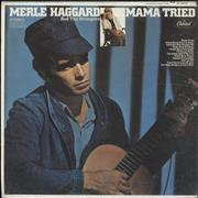 Click here for more info about 'Merle Haggard - Mama Tried - 1st'