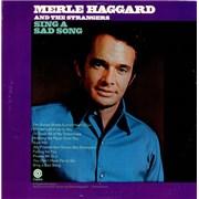 Merle Haggard Sing A Sad Song USA vinyl LP