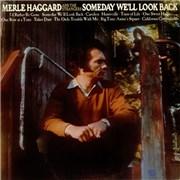 Merle Haggard Someday We'll Look Back USA vinyl LP