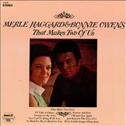 Merle Haggard That Makes Two Of Us USA vinyl LP