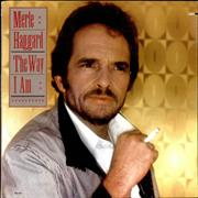 Merle Haggard The Way I Am USA vinyl LP