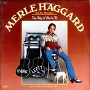 Merle Haggard The Way It Was In '51 USA vinyl LP