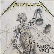 Metallica ...And Justice For All Spain 2-LP vinyl set