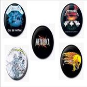 Click here for more info about 'Metallica - Badge Set'