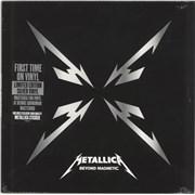"Metallica Beyond Magnetic - Sealed UK 12"" vinyl"